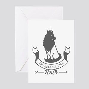 Queen of the North Greeting Cards