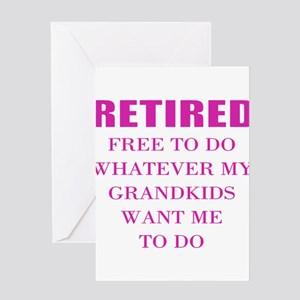 Math Teacher Retirement Greeting Cards Cafepress