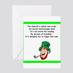 Crude Rude Lewd Greeting Cards - CafePress