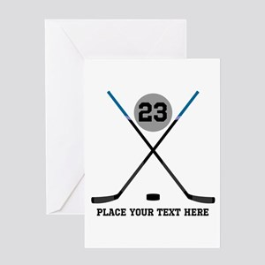 Hockey Stick Stationery - CafePress