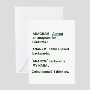 Funny Anagram Gifts - CafePress