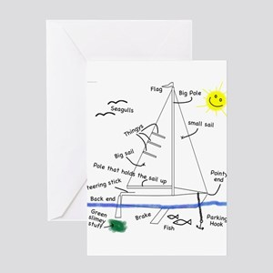 The Well Rigged Greeting Cards