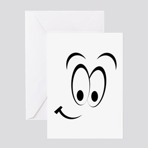 8858975f51af4 Funny Cartoon Character Big Round Face Big Stationery - CafePress
