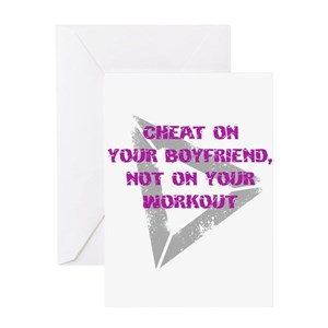 Cheat on your boyfriend, Not Greeting Card