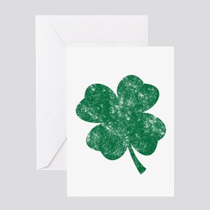 St Patrick's Shamrock Greeting Card