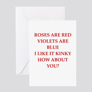 poem Greeting Card