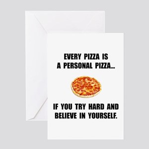 Personal Pizza Greeting Cards