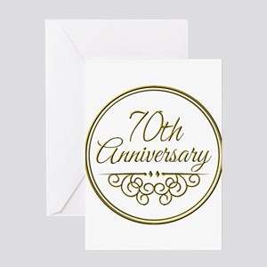 70th Wedding Anniversary.70th Wedding Anniversary Greeting Cards Cafepress