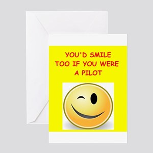 pilot Greeting Cards