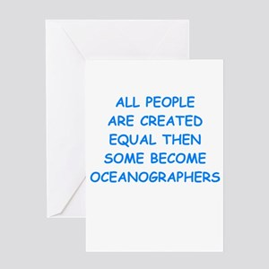 oceanographer Greeting Cards