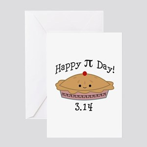 Sweet Happy Pi Day! Greeting Cards