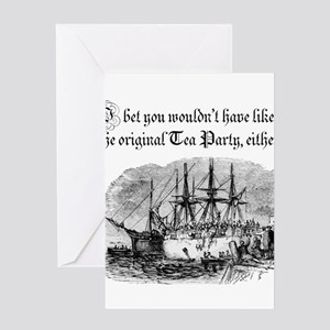 Original Tea Party Greeting Cards
