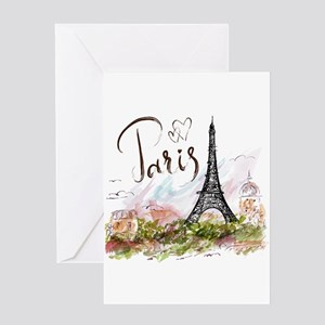 Paris Greeting Cards