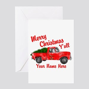 Old Truck With Christmas Tree.Christmas Tree On Old Pickup Truck Stationery Cafepress