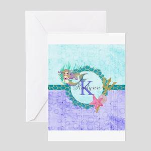 Mermaid Greeting Cards - CafePress