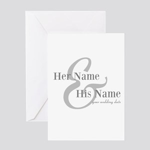 Wedding Gift Greeting Cards