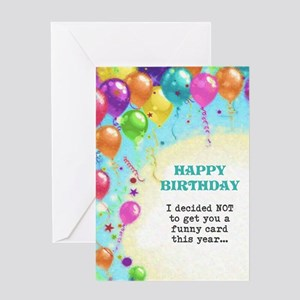 Not Funny Greeting Cards