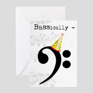 Birthday Musical Instrument Viola Greeting Cards