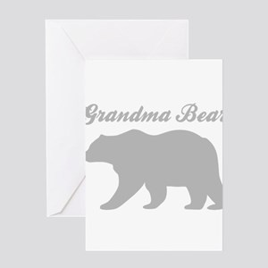 Grandma Bear Greeting Cards