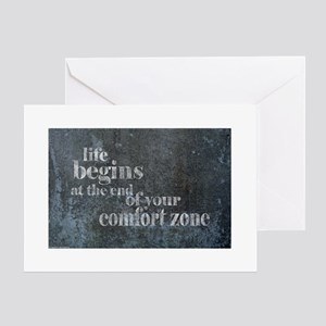 Life Begins Greeting Cards