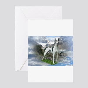 Majestic Dane Greeting Cards