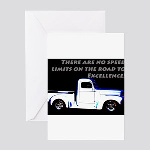 No Speed Limits Greeting Cards