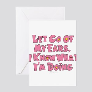 Let Go Now Greeting Cards