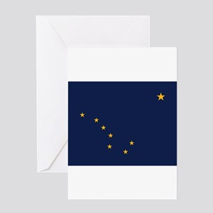 Flag of Alaska Greeting Cards