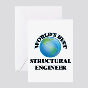 World's Best Structural Engineer Greeting Cards
