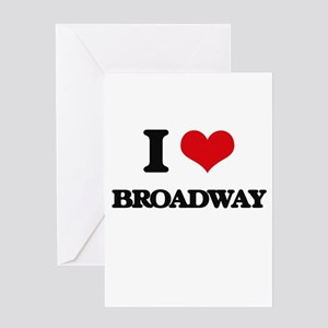 broadway Greeting Cards
