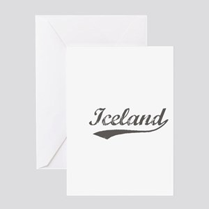 Iceland flanger Greeting Card