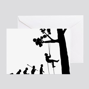 Tree-Climbing Greeting Card