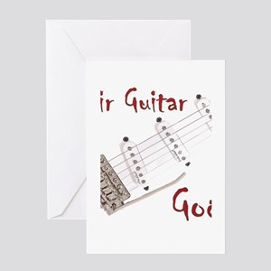 Air Guitar God, Guitar Strings, Pickups, Bridge, W