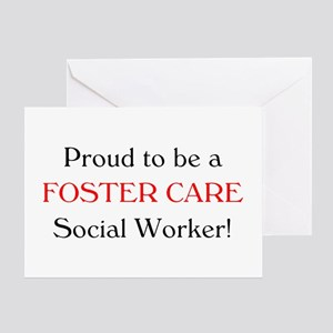Proud Foster Care SW Greeting Card