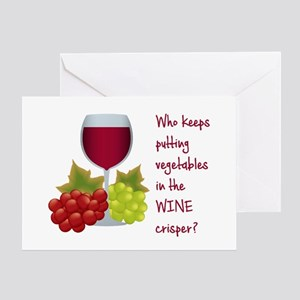 Funny Wine Lovers Quote Greeting Cards