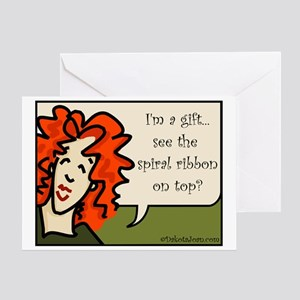 Red Hair Birthday Stationery