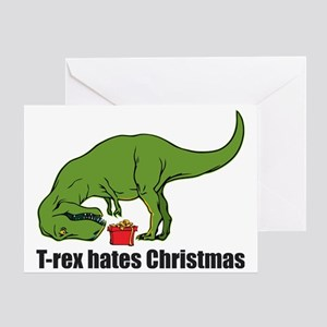8557f3e15 Funny T Rex Hates Christmas Gifts - CafePress