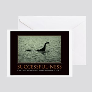 successfulnessposter Greeting Card