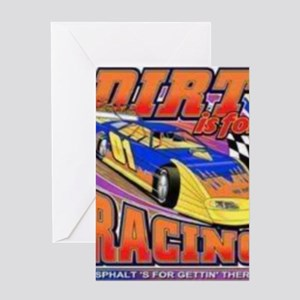 DirtRacing Greeting Card