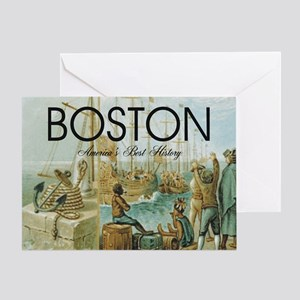 boston2b Greeting Card