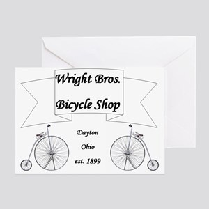 Wright Bros. Cycle Shop Greeting Card