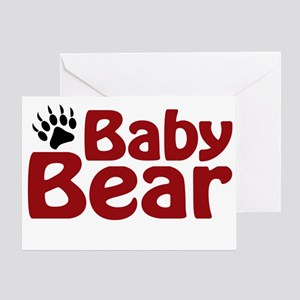 Baby Bear Claw Greeting Card