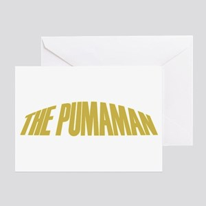 Pumaman Greeting Card