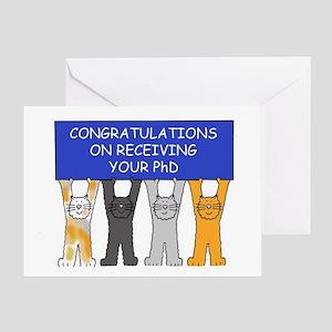 Graduation Congratulations Greeting Cards - CafePress