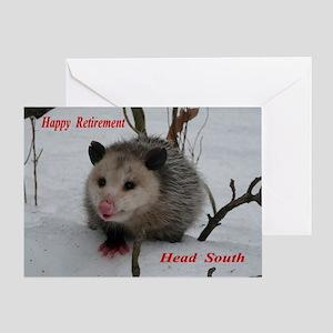Funny Possum Greeting Cards - CafePress