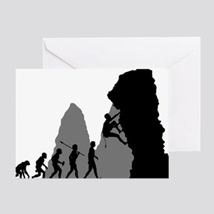 Rock-Climbing-02 Greeting Card