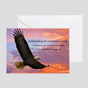 Wings of Prayer Greeting Card