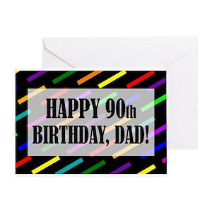 90th Birthday Greeting Cards