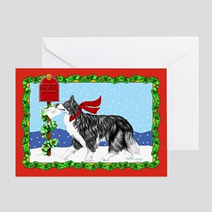 Border Collie Mail Greeting Card
