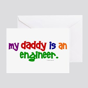 My Daddy Is An Engineer (PRIMARY) Greeting Card